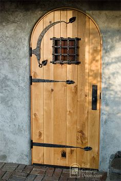 great door hardware including a speakeasy grille