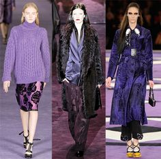fashion in Purple