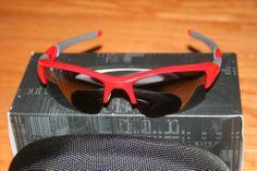 Oakley Flak Jacket XLJ- Red & Black