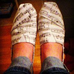 Tom Musical Flats | Fashionista Tribe