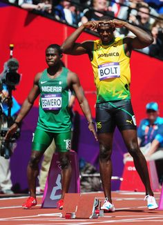 Usain Bolt for the win!
