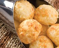 pão de tapioca c/ queijo, massa de máquina de pão