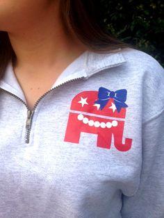 Future First Lady sweatshirt quarter zip