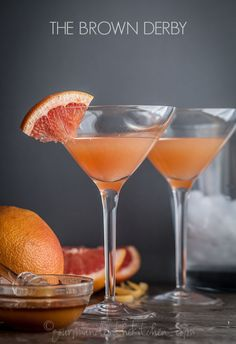 Find out how to make a Brown Derby—a classic bourbon cocktail made with grapefruit and honey!
