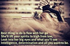 my horse does this for me every day
