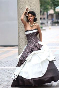 Beautiful twist to the traditional sesotho material African Traditional Wedding Dress, Traditional Wedding Attire, African Wedding Dress, African Print Dresses, African Fashion Dresses, African Dress, Traditional Outfits, African Weddings, African Prints