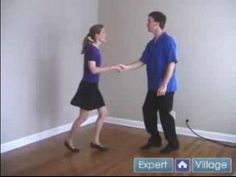 How to Swing Dance : Stop Spin Move in Swing Dancing