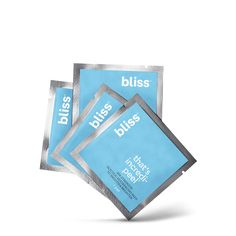 Shop our That's Incredi-peel Glycolic Resurfacing Pads to Smooth & Brighten here at blissworld.com. This spa-quality peel gradually releases glycolic acid overnight to target fine lines, discoloration & imperfections for smoother, brighter skin by morning. Find this & other straight-from-the spa Bliss skincare products.