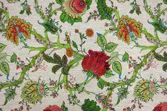 Linen Upholstery Print