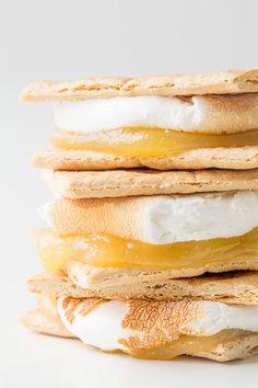 lemon meringue pie s'mores