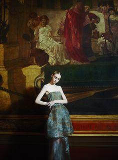 A Light That Never Goes Out: Nastya Kusakina by Erik Madigan Heck for UK Harper's Bazaar March 2015