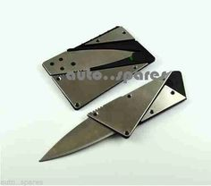 Stainless steel stealth pocket #wallet tool survival #folding #credit card . shar,  View more on the LINK: http://www.zeppy.io/product/gb/2/322280009417/