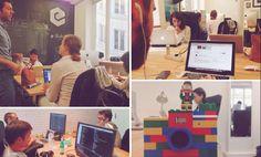 Augist 2015- Tweet: #StartupIsland2020 Imagine we had an eFounders here