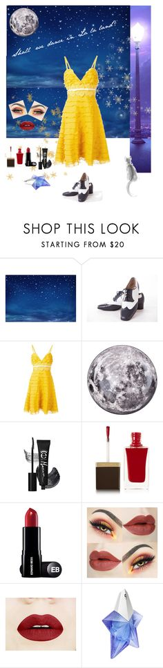"""Shall we dance?"" by fashionko ❤ liked on Polyvore featuring Salvatore Ferragamo, Giambattista Valli, Seletti, Tom Ford and Thierry Mugler"