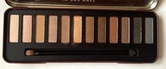 W7 in the buff lightly toasted eyeshadow palette.