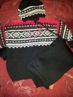 Marius genser, bukse og lue