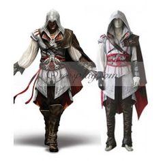 Assassin's Creed II Ezio Cosplay Costume