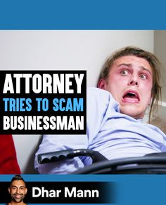 ATTORNEY Tries To SCAM Businessman, Instantly Regrets It | Dhar Mann. When you take advantage of people, it always comes back to you. For more motivational videos, visit DharMann.com #DharMann Life Tips, Life Hacks, Motivational Videos, Don't Judge, Regrets, Comebacks, Cover, Books, People