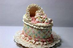 Baby Bassinet Cake - Cake by Sunitha Jossey