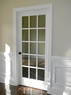French Door To Convert Spare Bedroom Into A Home Office Music Room