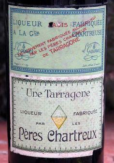 """Chartreuse """"Une Tarragone"""" #vintage #liqueur #chartreuse"""