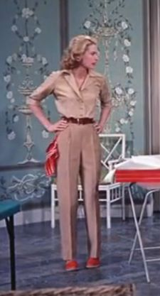 Grace Kelly in High Society - want some trousers like this