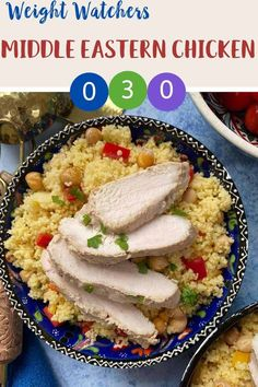 This tasty middle eastern inspired spiced chicken is zero SmartPoints for anyone following the Weight Watchers Blue or Purple plans. It is 3 SmartPoints per portion on the Green plan. A tasty and filling Weight Watchers lunch or dinner recipe. #wwlunchrecipe #weightwatcherssmartpoints #smartpoints #ww #wwblueplan wwpurpleplan #wwgreenplan #wwrecipes #wwchickenrecipes Ww Recipes, Lunch Recipes, Dinner Recipes, Cooking Recipes, Weight Watchers Pasta, Weight Watchers Lunches, Friend Chicken Recipe, Chicken Recipes, Chicken Spices