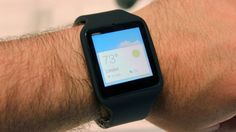 Hands-on with the Sony SmartWatch 3