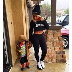 Black Chyna and her son