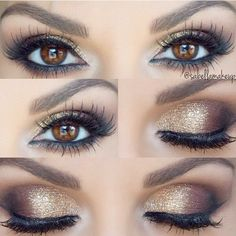 Eye makeup is a fundamental element of make-up, which is remarkably under-rated. Smokey eye makeup has to be accomplished accurately to be able to make you look stunning. A complete smokey eye make… Makeup Hacks, Makeup Goals, Makeup Tutorials, Easy Makeup, Simple Makeup, Unique Makeup, Eyeshadow Tutorials, Hair Tutorials, Beauty Make-up
