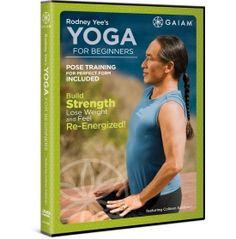 Gaiam Rodney Yees Yoga for Beginners DVD