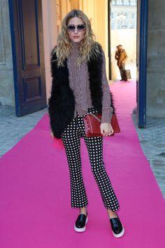 Olivia Palermo en París
