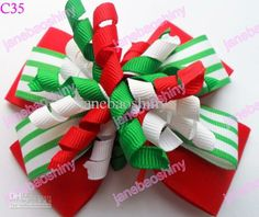 Wholesale Character Bow - Buy Christmas Hair Bows Character Bow & Korker Bow & Boutique Bow Layered Hair Bows, $1.21 | DHgate