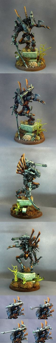 40k - Eldar Wraithlord - Predator Style