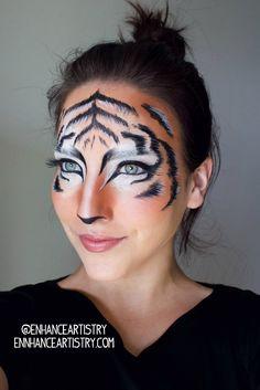 Tiger Makeup Tutorial