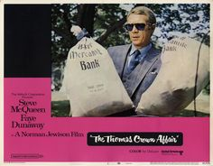 The Thomas Crown Affair, US lobby card #1. 1968