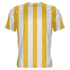 Gold+and+White+Striped+Soccer+Jerseys