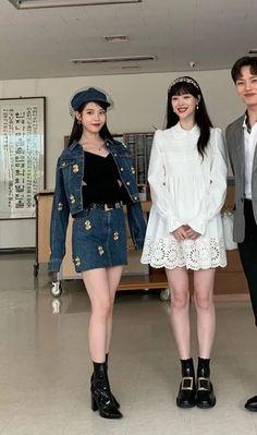 Hotel del Luna: last drama with Sulli🥺😭😢 Luna Fashion, Blackpink Fashion, Kpop Fashion Outfits, Sulli, Mode Kpop, Korean Street Fashion, Korean Actresses, Looks Style, Aesthetic Clothes
