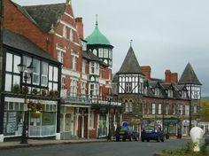 Llandrindod Wells - Pretty Victorian city in Wales.
