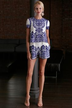 Naheem Khan. That print. Reminds of Greece <3