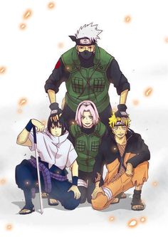 ~ #Naruto --> Team 7 ~