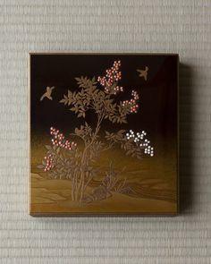 Maki-e lacquer box by Kichiemon, Edo period (1603~1868), Japan