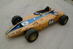 1968 Shelby Turbine Indy Car - never raced.