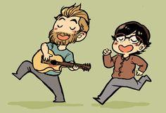Rhett and link fan art