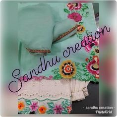 Embroidery Suits Punjabi, Embroidery Suits Design, Hand Work Embroidery, Embroidery Fashion, Hand Embroidery Designs, Embroidery Dress, Designer Punjabi Suits Patiala, Punjabi Suits Designer Boutique, Boutique Suits