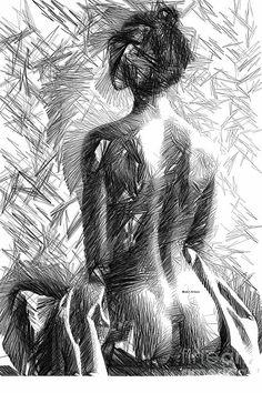 Rafael Salazar Digital Art - Morning Meditation by Rafael Salazar