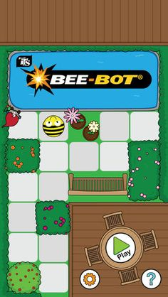 Bee-Bot programming app for kids