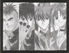 Flame of Recca Flame Of Recca, Old And New, Manga, Anime, Fictional Characters, Art, Art Background, Sleeve, Manga Comics