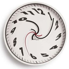 """Oh dear! Oh dear! I shall be late."" Damned if I don't say that once a day. With this clock who would care?"