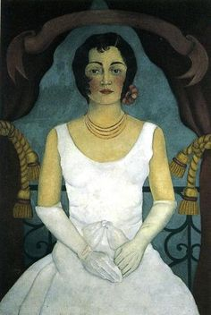 """""""Portrait der Lupe Marin"""", öl von Frida Kahlo (1907-1954, Mexico)"""